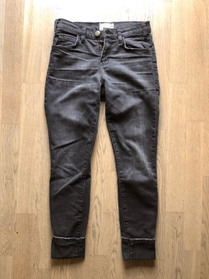Current Elliott Skinny Jeans W24 Grau Anthrazit denim