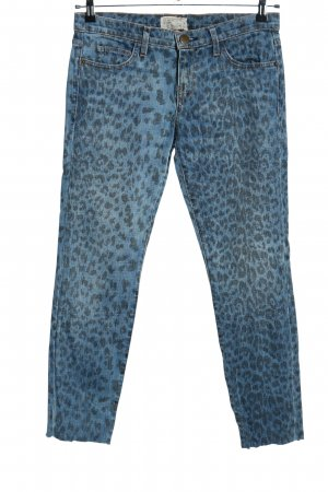 Current/elliott Slim Jeans blau Leomuster Casual-Look