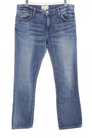 Current/elliott Slim Jeans graublau Washed-Optik