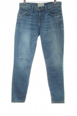 Current/elliott Slim Jeans hellblau Street-Fashion-Look
