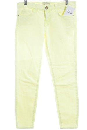 Current/elliott Slim Jeans neongelb Casual-Look