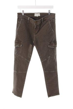 Current/elliott Slim Jeans olivgrün