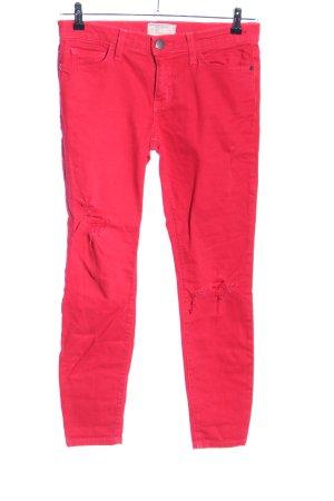 Current/elliott Slim Jeans rot Casual-Look
