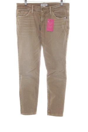 Current/elliott Slim Jeans sandbraun-hellbraun Casual-Look
