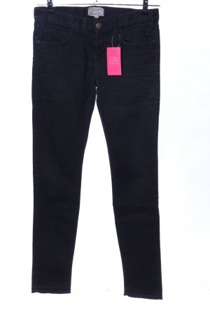 Current/elliott Straight-Leg Jeans schwarz Casual-Look