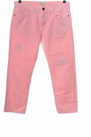 Current/elliott Straight-Leg Jeans pink Casual-Look