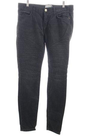 Current/elliott Jeansy z prostymi nogawkami antracyt Wygląd w stylu miejskim