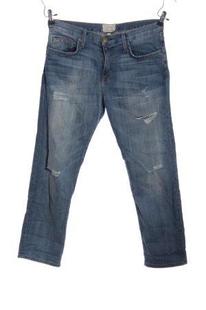 Current/elliott Jeans coupe-droite bleu style décontracté