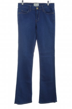 Current/elliott Straight-Leg Jeans blau Street-Fashion-Look