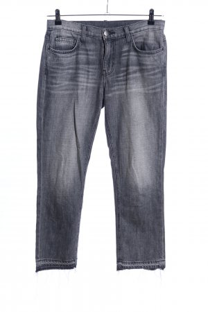 Current/elliott Straight-Leg Jeans hellgrau Casual-Look