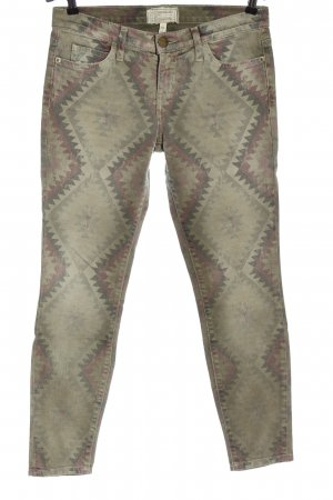 Current/elliott Stretch Jeans graphic pattern casual look