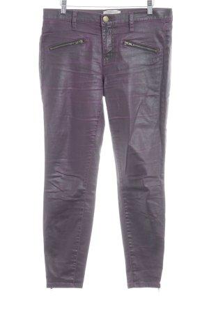 Current/elliott Stretch Trousers violet-brown violet extravagant style