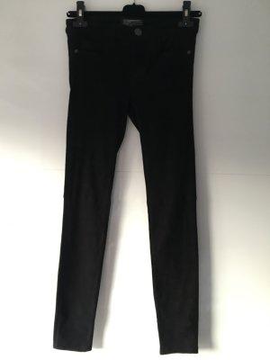 Current/elliott Pantalón de cuero negro Cuero