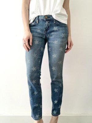 "Current/Elliott | The Stiletto Skinny Jeans ""White Star"" (W25)"