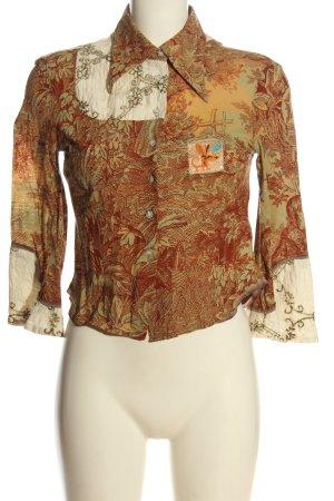 Custo Barcelona Camicia blusa motivo astratto elegante