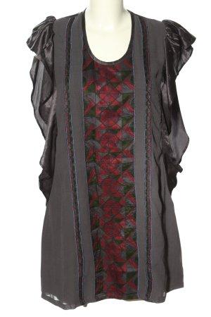 Custo Barcelona Long-Bluse mehrfarbig Casual-Look