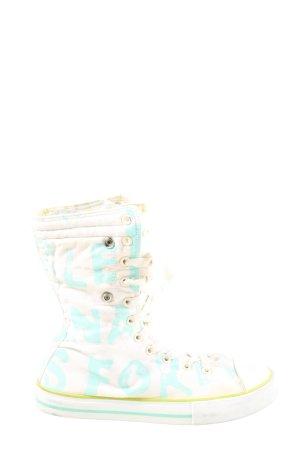 Custo High Top Sneaker weiß Casual-Look