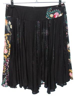 Custo Line Miniskirt mixed pattern casual look