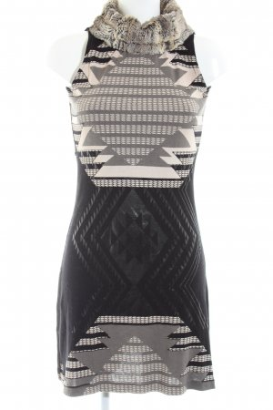 Custo Line Knitted Dress graphic pattern casual look