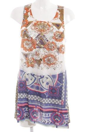 Custo Line Pinafore dress graphic pattern extravagant style
