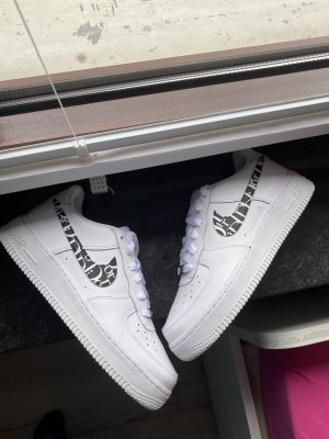 Custom air force 1 Größe 38 weiß  Nike sneaker