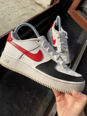 Custom air force 1 sneaker Nike Schuhe Lederfarbe handgemalt