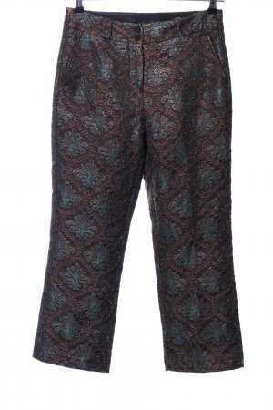 Custommade 3/4 Length Trousers flower pattern extravagant style