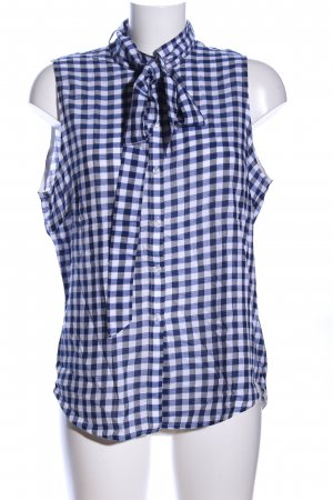 Custommade Sleeveless Blouse check pattern casual look