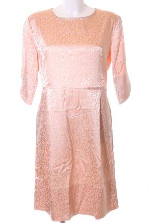 Custommade Sheath Dress nude leopard pattern elegant