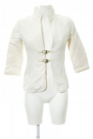 Custommade Short Jacket cream-silver-colored elegant