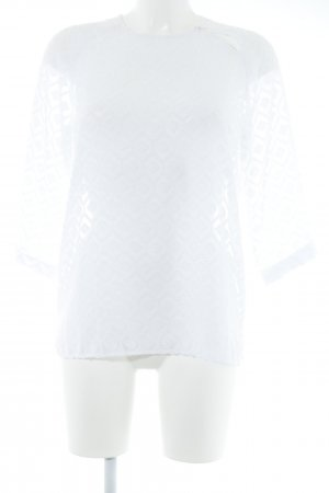 Custommade Long Sleeve Blouse white elegant