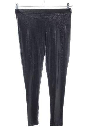 Custommade Leggings black wet-look