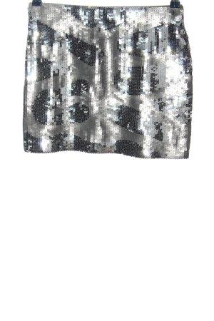 Custommade Miniskirt light grey-black elegant
