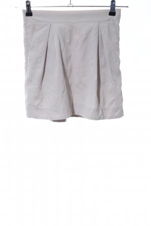 Custommade Miniskirt light grey casual look