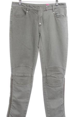 Custommade Tube Jeans khaki Metal elements