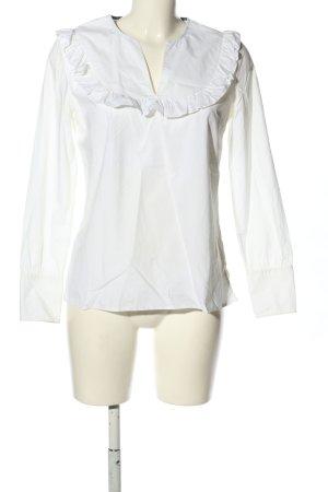 Custommade Slip-over Blouse white business style