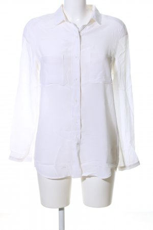 Custommade Silk Blouse white business style
