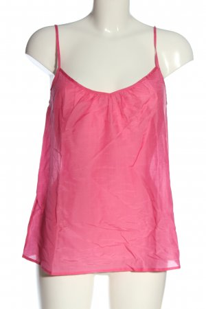 Custommade Spaghetti Strap Top pink casual look