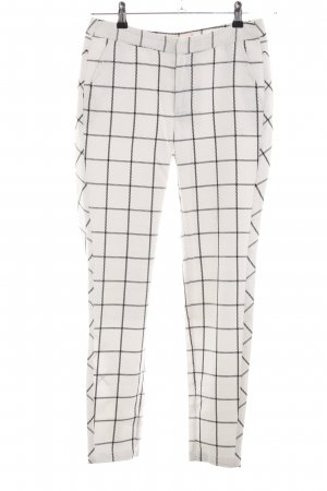 Custommade Jersey Pants natural white-black allover print casual look