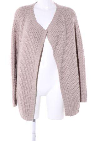 Custommade Gebreide jas roze casual uitstraling