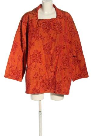 Cut Loose Long Blazer light orange-red flower pattern casual look