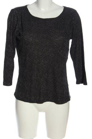 Cut Loose Crewneck Sweater black casual look