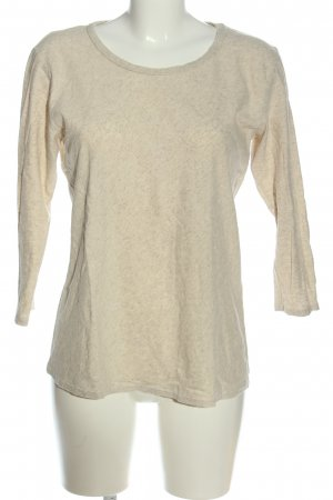 Cut Loose Crewneck Sweater natural white casual look