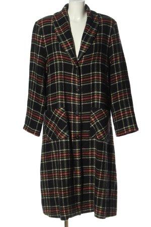Cut Loose Manteau en laine motif à carreaux style décontracté