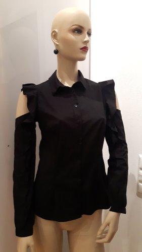 Cut out Bluse in schwarz von Rinascimento, Größe 34
