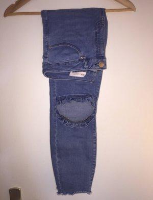 Asos Tube Jeans blue
