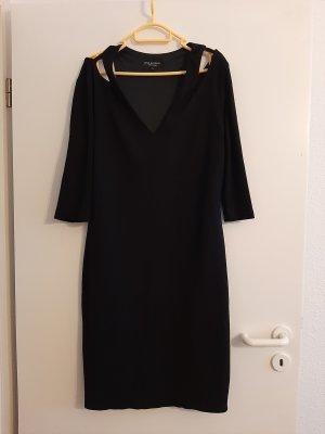 Ana Alcazar Robe découpée noir