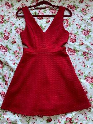 Forever 21 Robe découpée rouge foncé