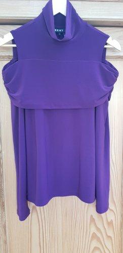 Cut out Shirt von DKNY, violett, S