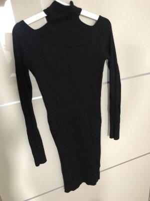 New Look Vestido cut out negro